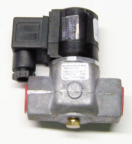 Black Teknigas 2841211-00 Class A Gas Solenoid Valve 1/2Inch