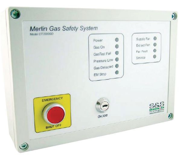 S And S Northern Merlin 2000Gd Interlocking System