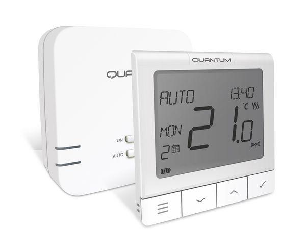 Salus Quantum Slim Rf Thermostat Opentherm+
