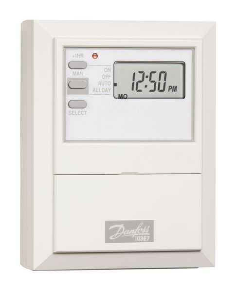 Danfoss 087N653800 7 Day Electronic Time Switch