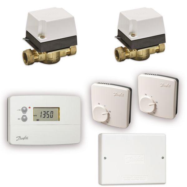 Danfoss Ts715 Twin Heating Zone Combi Pack