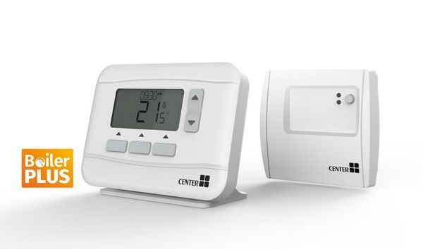 Center Rf Wireless 7-Day Programmable Room Thermostat