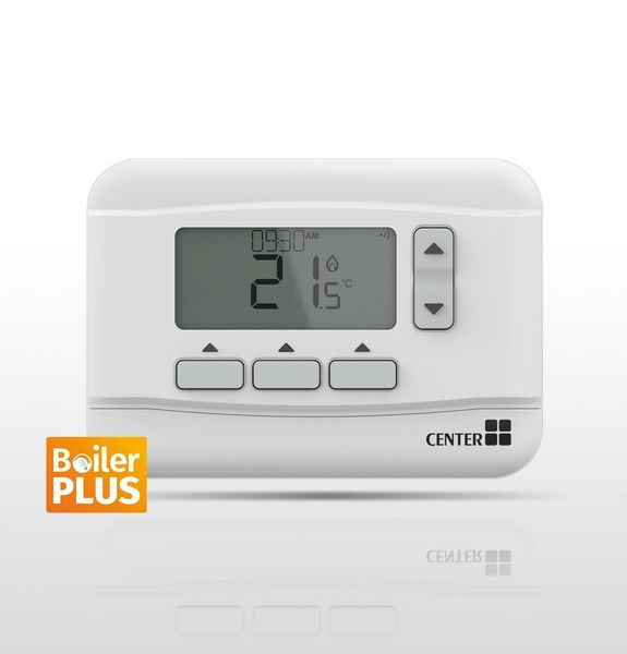 Center Wired 7-Day Programmable Room Thermostat