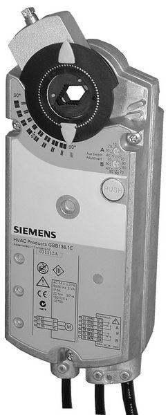 Siemens Gbb161.1E Rotary Actuator 24V 0-10Vdc 25Nm