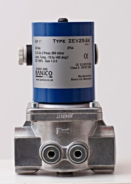 Fantini Banico Automatic Reset Gas Solenoid Valve 1 24V