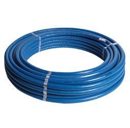 Pegler Yorkshire Henco Mlcp Insulation Pipe (Meter Of) 32 X 25Mm 10Mm Blue