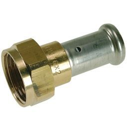 Pegler Yorkshire Henco 26Pz Press Swivel Adaptor 16Mm X 3/4