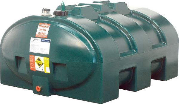 Harlequin Low Profile Single Skin Oil Tank 1200Ltr