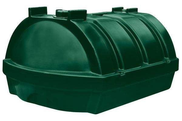 Kingspan Titan Low Profile Plastic Oil Storage Tank 1200Ltr