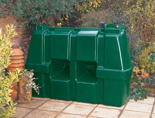 Kingspan Titan Rectangular Talking Plastic Oil Tank 1225Ltr
