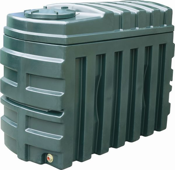 Kingspan Titan/Ecosafe Bottom Outlet Plastic Oil Tank 1225Ltr