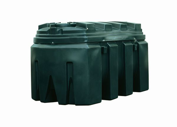 Kingspan Titan/Ecosafe Bottom Outlet Plastic Oil Tank 1800Ltr