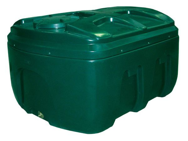 Kingspan Titan/Ecosafe Bottom Outlet Plastic Oil Tank 1200Ltr