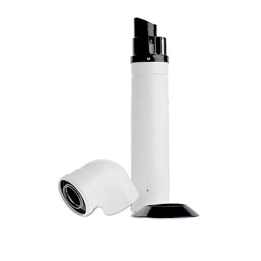 Baxi Multifit Horizontal Flue With Inline Elbow