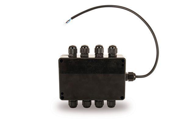 Pp Ufh Wiring Junction Box 6+ Zone Black