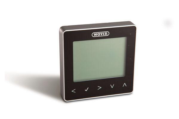 Hep2o Ufh Mains Controls - Black Neostat