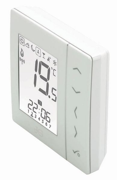 Jg Underfloor Wireless Thermostat Battery White