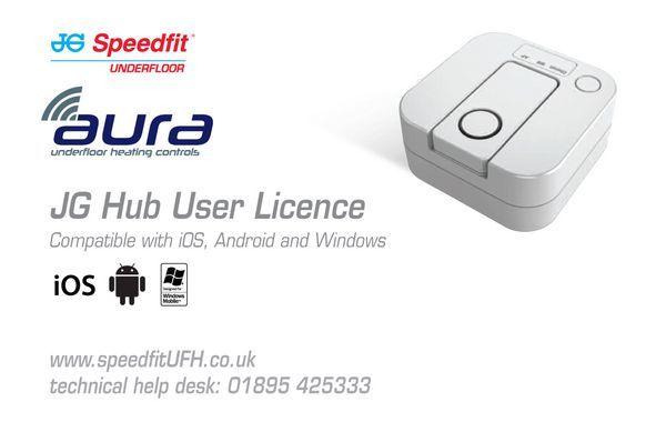 Speedfit Jgub1 User Licence 1-10 Zones
