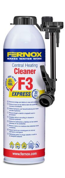 Fernox Express F3 Central Heating Cleaner 400Ml