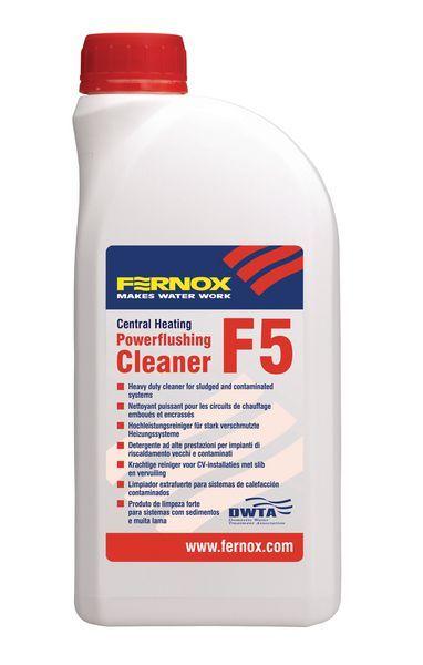 Fernox F5 Powerflushing Cleaner 1Ltr