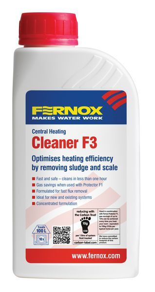 Fernox F3 Central Heating Cleaner 500Ml