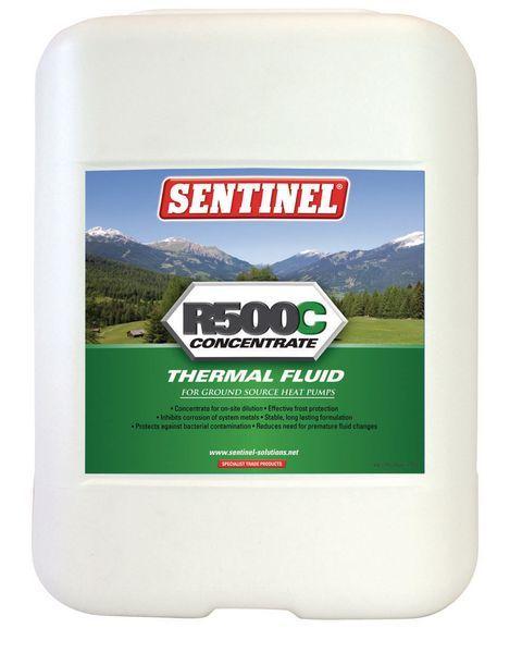 Sentinel R500c R500c Ground Source Heating Pump Thermal Fluid 20 Ltr