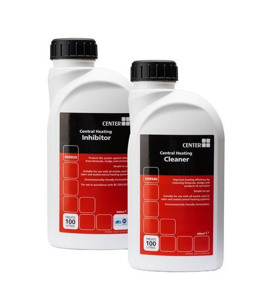 * Center Brand 500Ml Cleaner & Inhib Pack