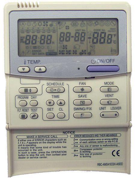 Tosh 7Day Remote Controller Rbc-Ams41e