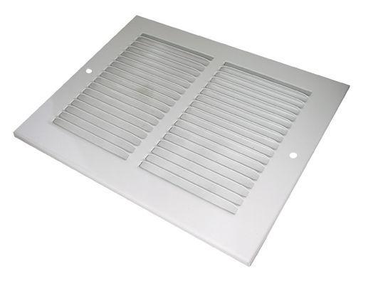 Airflow Mvo806 Passive Steel Grille 8 X 6 White
