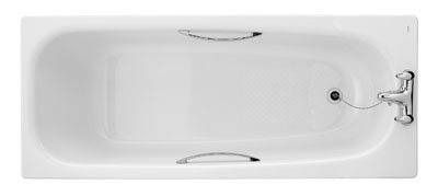 Twyford Double Ended Bath 1700 X 750Mm White