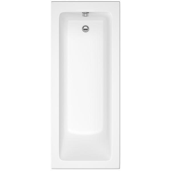 Nabis Jones Single Ended Bath Straight 1700X700 White