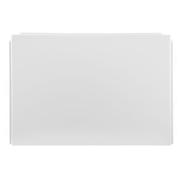 Nabis Taylor Shower Bath P-Shape End Panel 750X510mm White