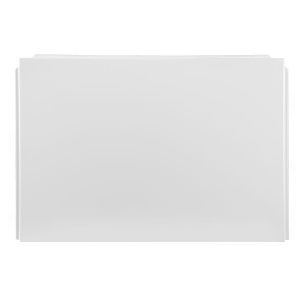Nabis Garland Shower Bath L-Shape End Panel 700X510mm White