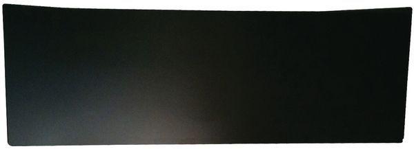 Colour Board Hardboard Front Panel Black