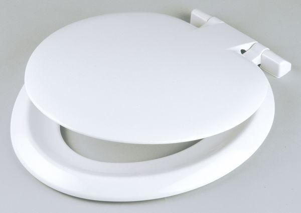 Celmac Sonata Sso55 Seat Only Top Fix White
