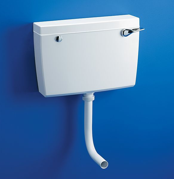 Armitage Shanks Regal S3740 Low Level Side Supply And Overflow Cistern 6 Ltrss White