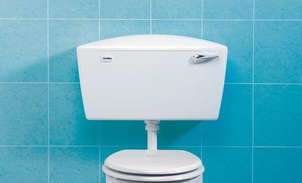 Thomas Dudley Elite Single Duo Flush Cistern 6/9 Ltrs White