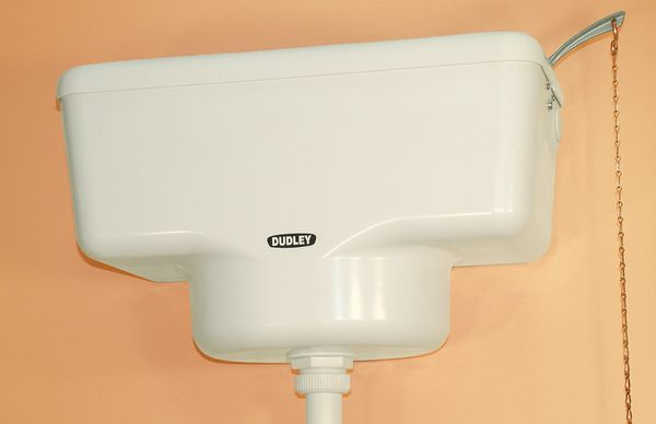 Thomas Dudley Triwell Pld0005aa Cistern 6/7/9 Ltrs White