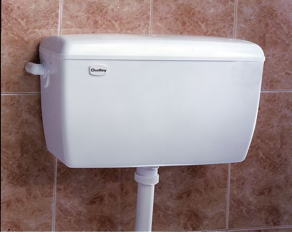 Thomas Dudley Auto Cistern 6-9 Ltrs White