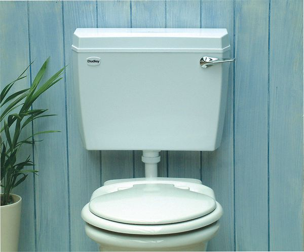 Thomas Dudley Acclaim Low Level Side Inlet Side Outlet Cistern 6-9 Ltrs White