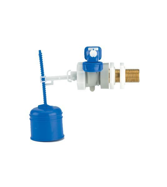Thomas Dudley Hydroflo Brass Tail Side Inlet Valve