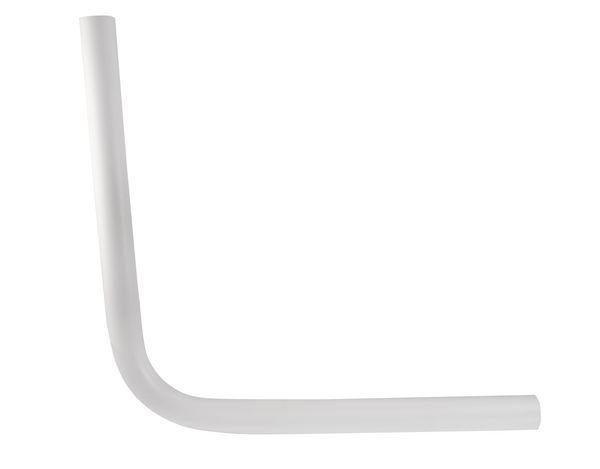 Masefield Epson Standard Low Level Flushpipe 24 X 24 White