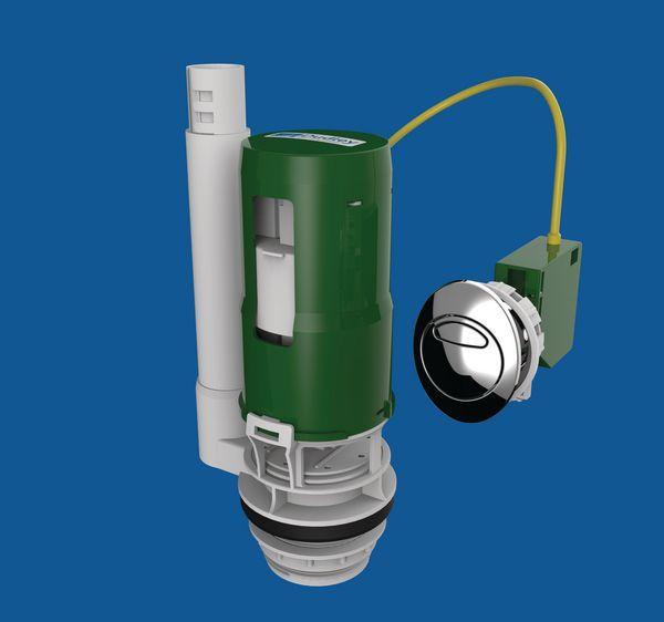 Thomas Dudley Victoria Dual Flush Valve Outlet Cable Butt 1.5/2