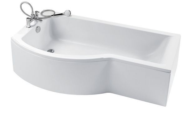 Concept 1700X700 Nth Lh Std Shower Bath