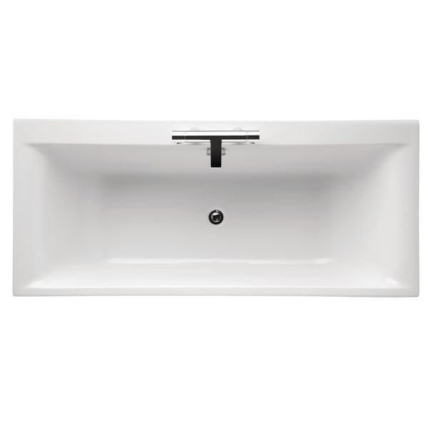 Ideal Standard Concept Double Ended 2 Tap Hole Bath 1700 X 750 White