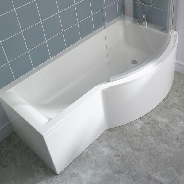 Ideal Standard Concept E7407 Bath Screen Silver/Clear