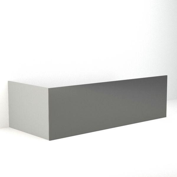 * Nab Gra Bath Fnt Panel 1800 G/Ch
