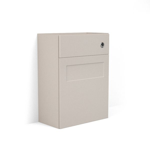 Nabis Elegance Fascia Pack For Back-To-Wall Toilet Unit 500Mm Cashmere Gloss