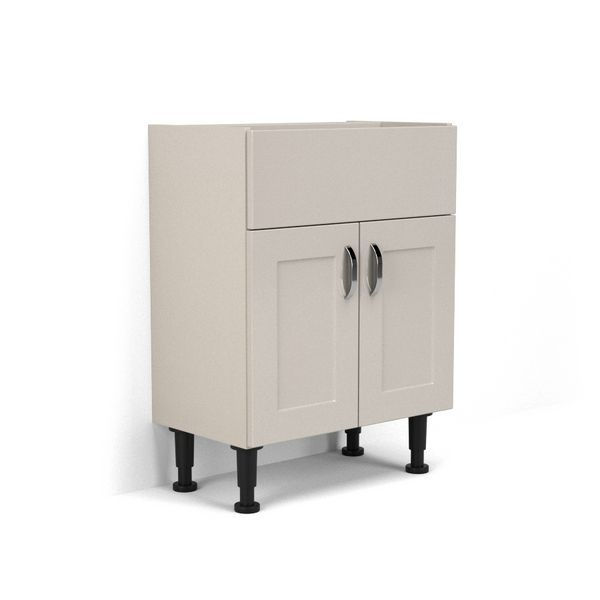 Nabis Elegance Fascia Pack For Washbasin Unit 600Mm Cashmere Gloss