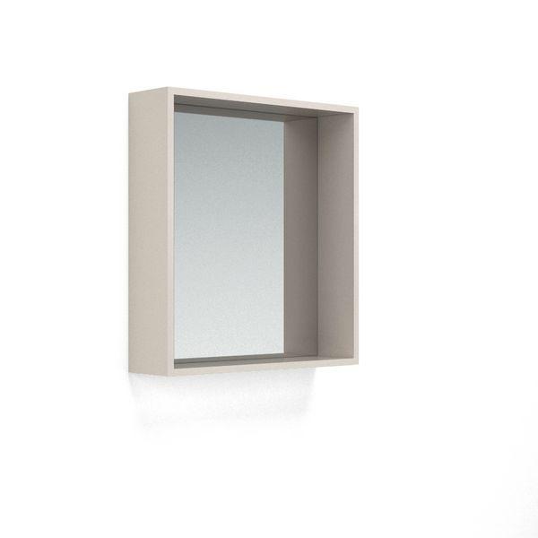 Nabis Open Mirror Unit 700Mm Cashmere